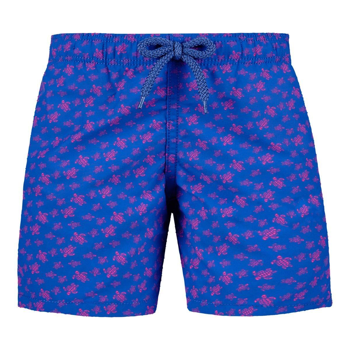 Vilebrequin Big Boys Kids Micro Ronde Des Tortues Swimtrunk-2 yrs, sea Blue, 2