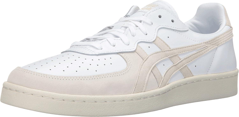 Asics Unisex GSM White/White Sneaker: Shoes