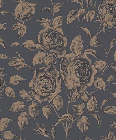 Rasch textil Tapete 10,05 x 0,53 m - Versetzter Ansatz - Glatt ...