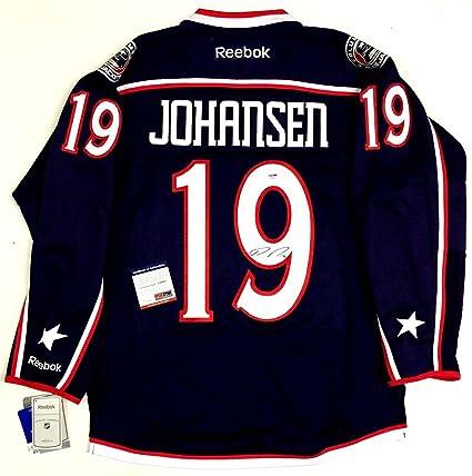 Ryan Johansen Signed Jersey - Reebok Coa X49995 - PSA DNA Certified ... 506869ef3411