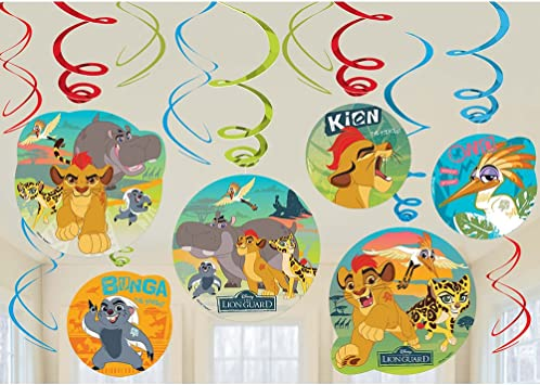 Amazon.com: Lion Guard Hanging Party Decoraciones de ...