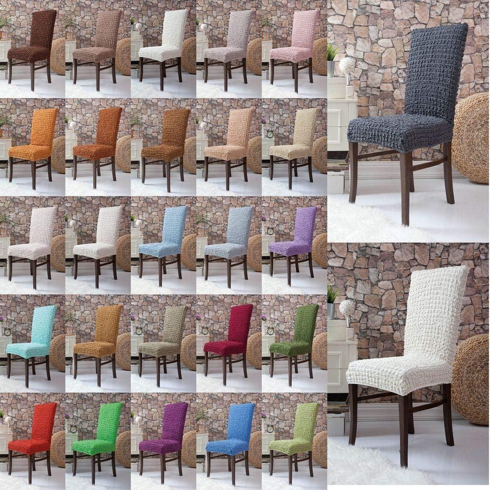 ajustement universel Caramel housse de chaise d/écorative en tissu /élastique Mixibaby Housse de chaise /élastique Fiora