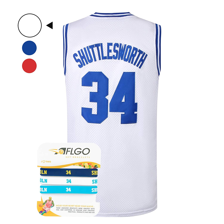 AFLGO Jesus Shuttlesworth #34 Lincoln High School - Camiseta de ...