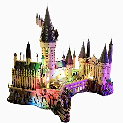 RAVPump Light Set for Harry Potter Hogwarts Castle Blocks Model - LED Light Kit Lighting Kit Compatible with Lego 71043 ( Lego Set not Included ): Toys & Games