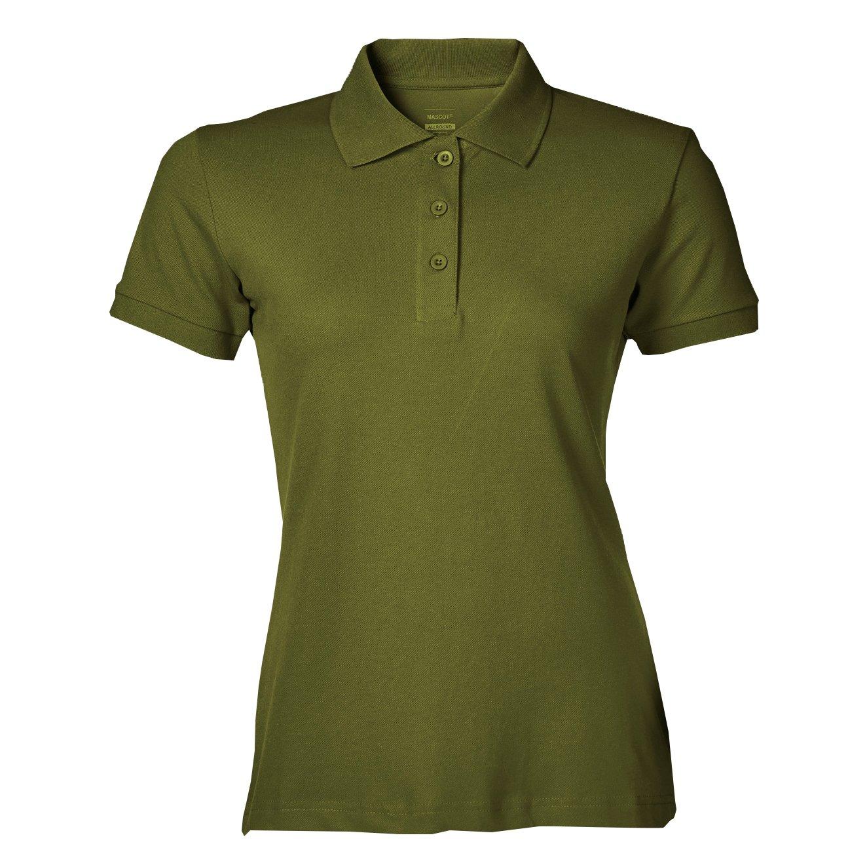 Mascot 51588-969-33-L Woman-PoloshirtGrasse Size L Moss Green