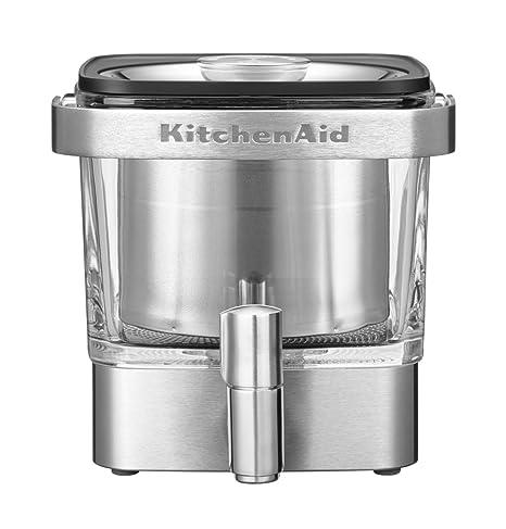 KitchenAid 5 kcm4212sx Cold de Brew – Cafetera, acero inoxidable, Plata