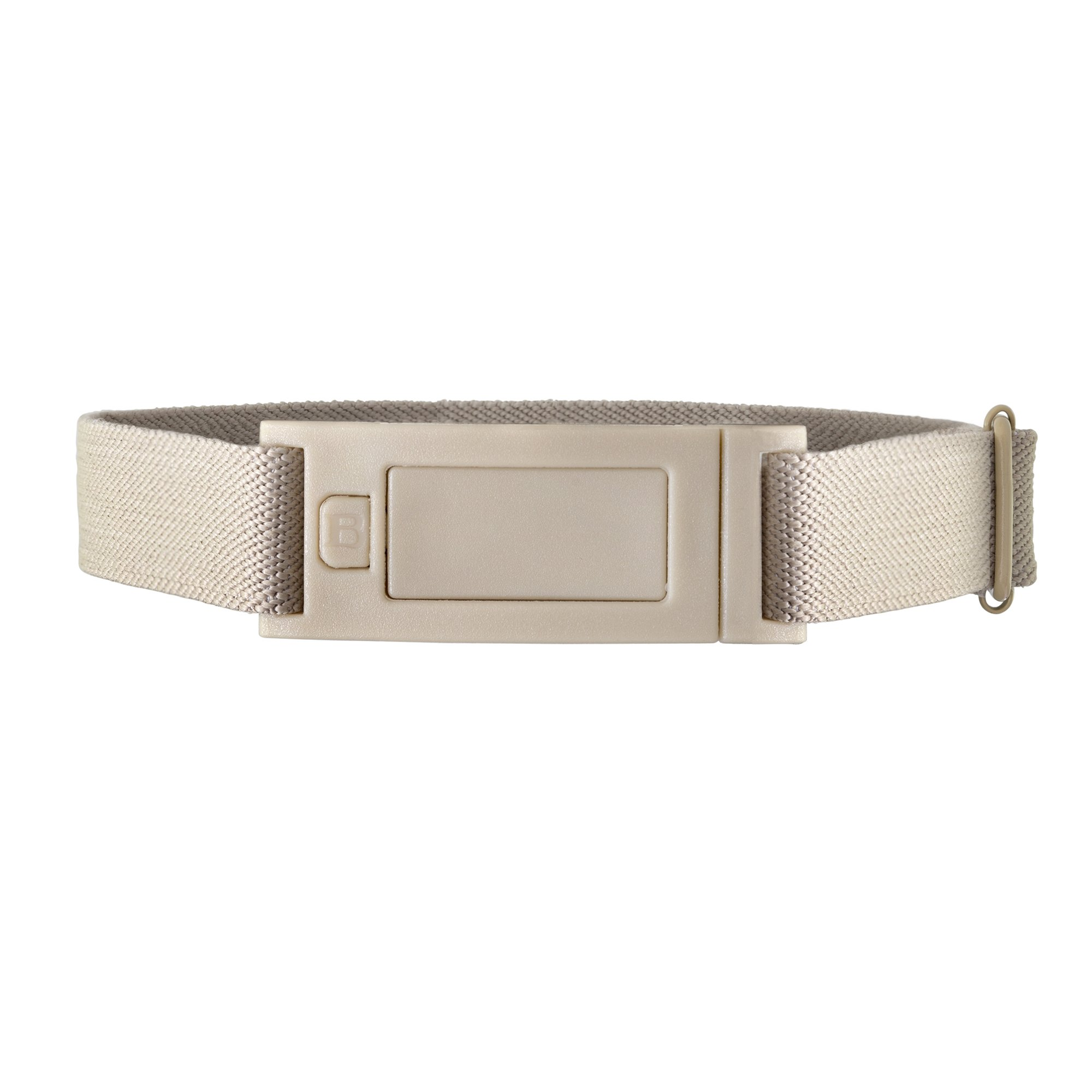 Beltaway NARROW Skinny No Show Adjustable Stretch Belt Sand
