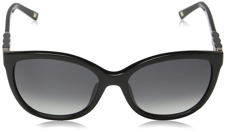 Escada SES343S-gafas de sol Mujer Gris Gris (SHINY BLACK ...