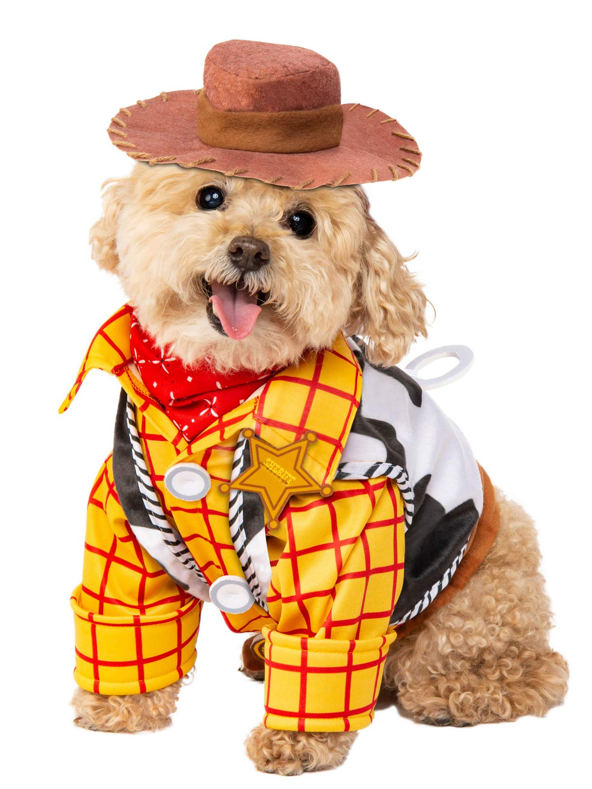 Rubie's Disney: Toy Story Pet Costume, Woody, Small
