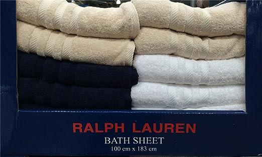 Ralph Lauren Polo Azul Marino Grande Funda Toalla de baño/Hoja con ...