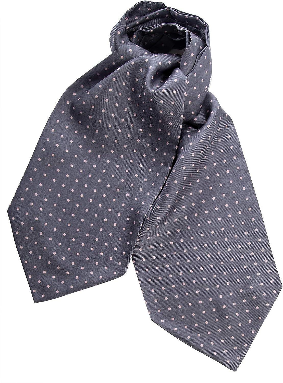 Mens Ascot Mens Cravat Silk Day Cravat Ascot Tie Wedding Gift for him A100