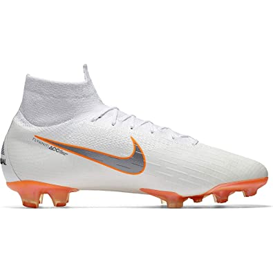 size 40 f8192 04e8a Nike Men's Superfly 6 Elite FG White/MTLC/Cool Grey (9)