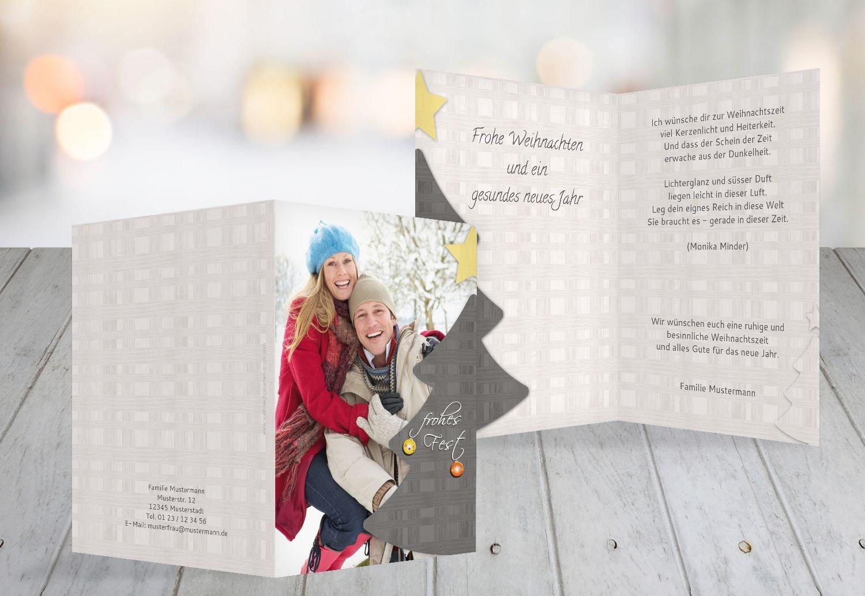 Kartenparadies Grußkarte Weihnachten Foto Grußkarte Holzkaro, hochwertige Weihnachtsgrüße als Weihnachtskarte (Format  105x148 mm) Farbe  Braun B01MUA4OFO   Vogue    Am wirtschaftlichsten    Neuankömmling