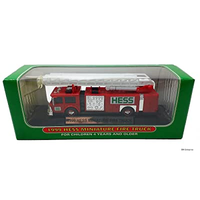 1999 Hess Minature Toy Fire Truck: Toys & Games