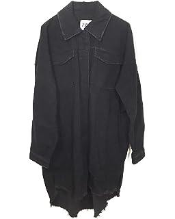576d3dcf Zara Women's Cropped Denim Jacket 6855/007: Amazon.co.uk: Clothing