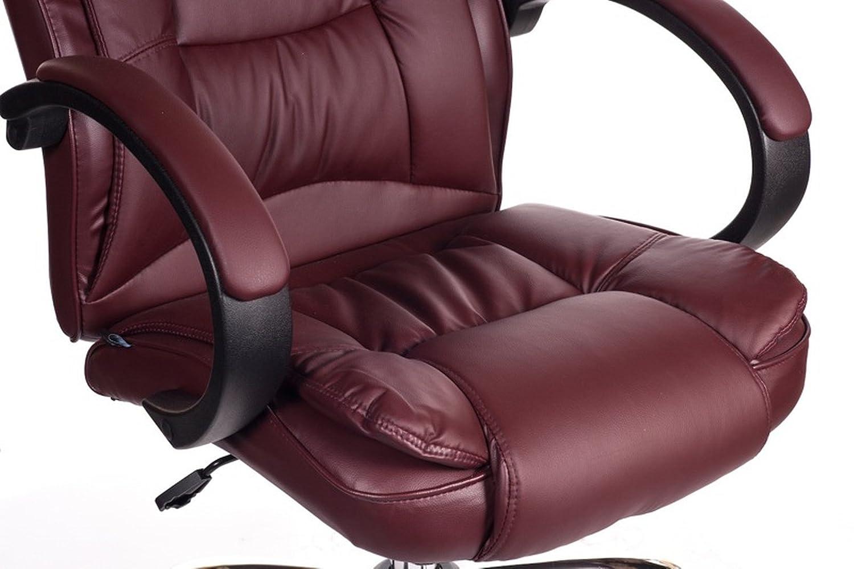 Sedie Ufficio Omologate : Poltrona sedia da ufficio presidenziale bordeaux studio girevole