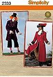Simplicity BB L-XL 2333Patron de Couture Costumes pour homme