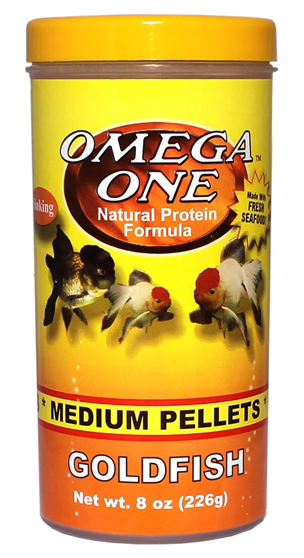 OMEGA One Goldfish Pellet Medium 8oz