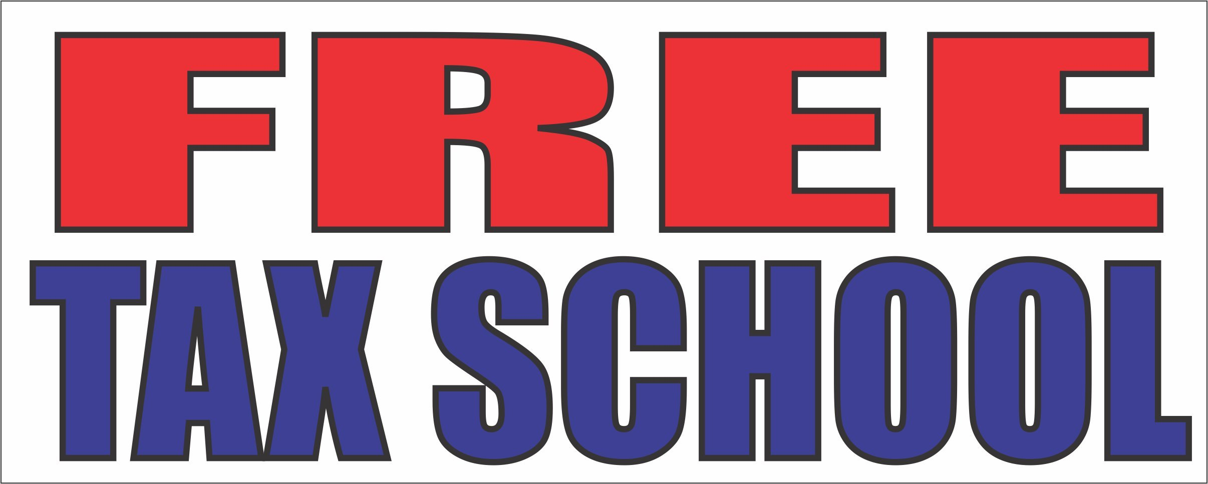 Free Tax School Banner