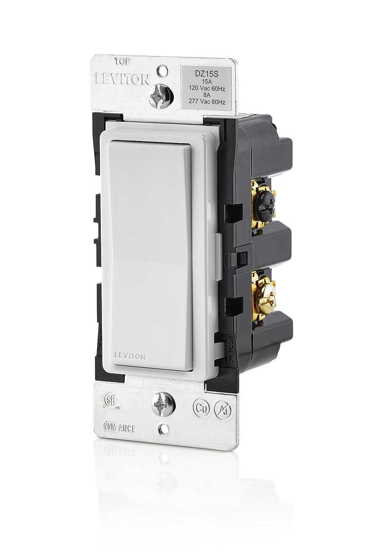 Leviton Dz15s 1bz Decora Smart Z Wave Plus On Off Wall Switch Single Pole Light Diagram Likewise Boat Dual Battery Lighting Accessories Amazon Canada
