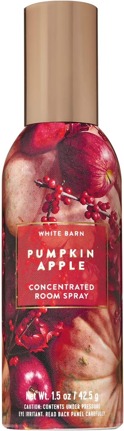 Bath and Body Works Pumpkin Apple Concentrated Room Spray 1.5 Ounce (2019 Edition, White Barn Label)