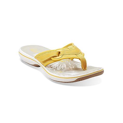 8ba14f631c34 Clarks Breeze Mila Flip Flops