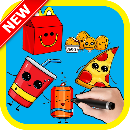 Amazon Com How To Cute Studio Drawing Cute Fast Food Appstore For Android