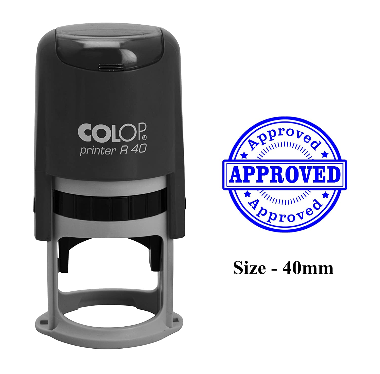 APPROVATO Timbro autoinchiostrante stampa Colp stampabile in plastica per ufficio e uso commerciale
