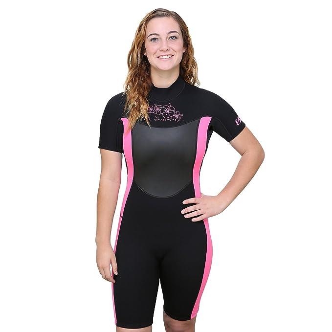 Amazon.com: U.S. Divers Shorty Wetsuit de la mujer: Clothing