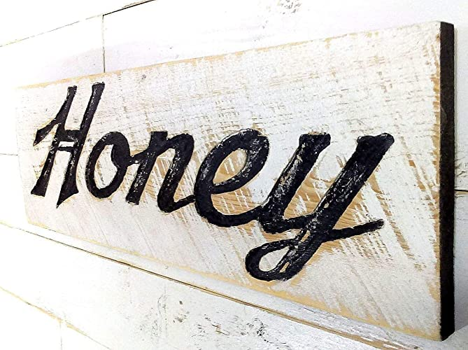 Large Vertical Welcome Sign 48t x 10w Carved in a Cypress Board Rustic Distressed Kitchen Farmhouse Style Restaurant Cafe Wooden Wood Wall Art Decoration