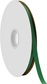 """product image for Offray Berwick 3/8"""" Single Face Satin Ribbon, Forest Green, 100 Yds"""