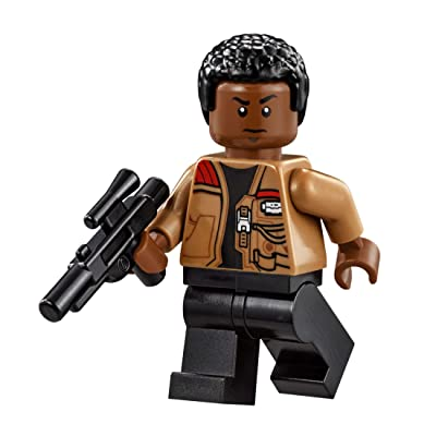 LEGO Star Wars Millennium Falcon Minifigure - Finn with Blaster Gun (75105): Toys & Games