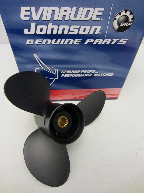 Johnson/Evinrude/OMC OEM Propeller 12.25x15 Prop 778774; 0778774 12-1/4 x 15 Pitch