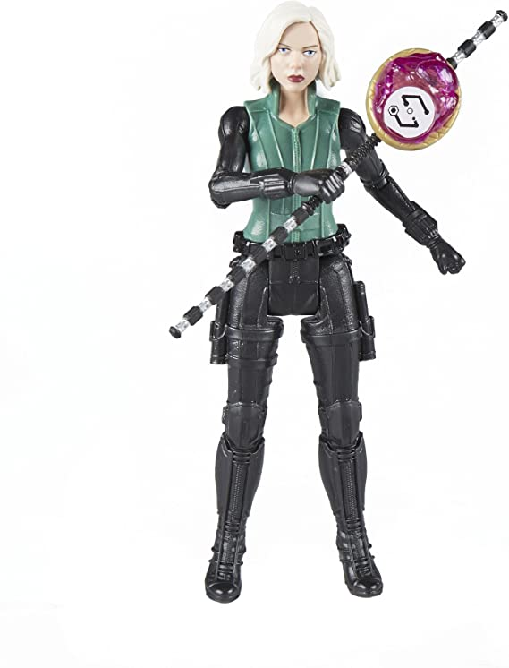 NEU Black Widow 15cm Hasbro Actionfigur Marvel Avengers Infinity War