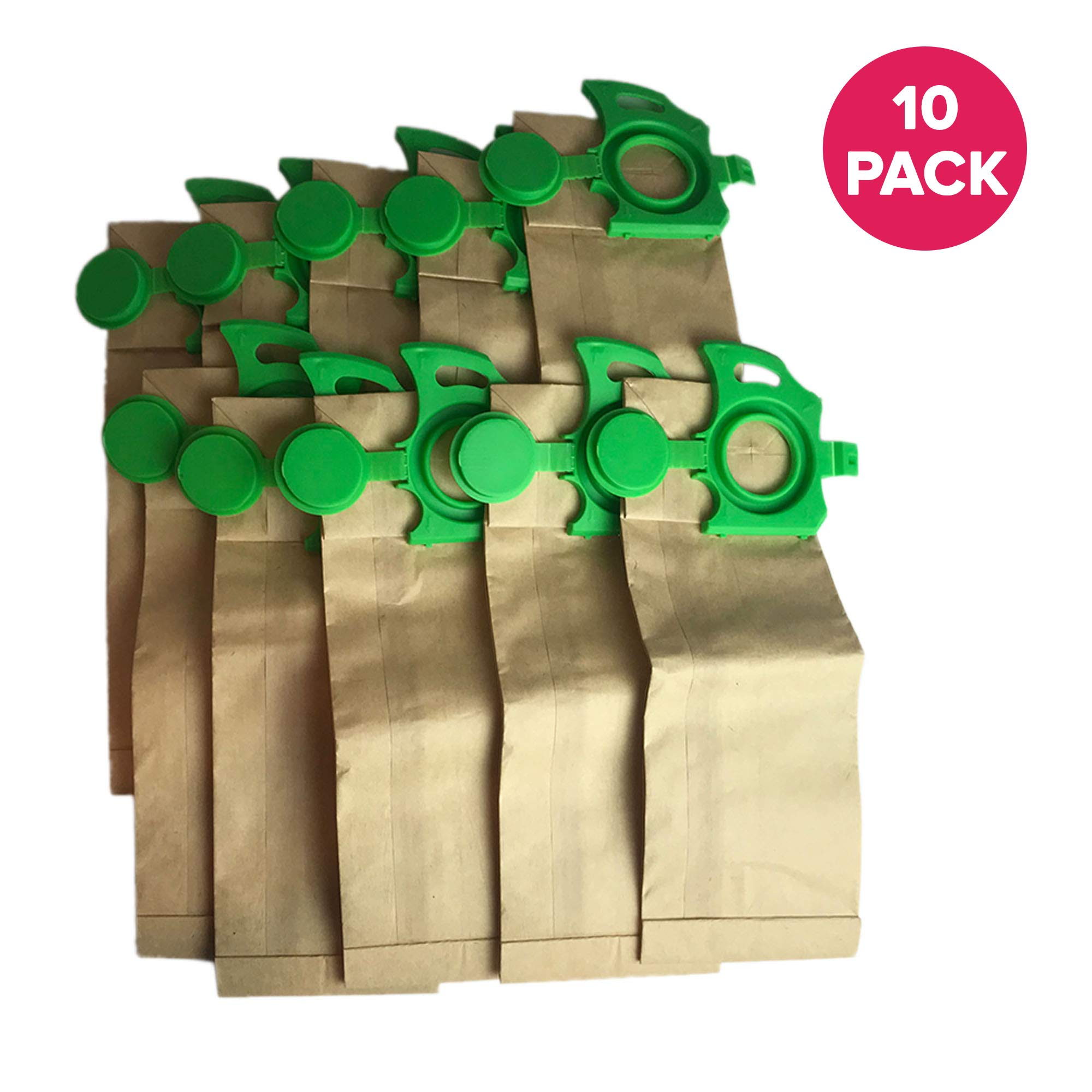 Think Crucial 10 Replacements for Sebo Felix Paper Bags, Compatible with Part 7029ER