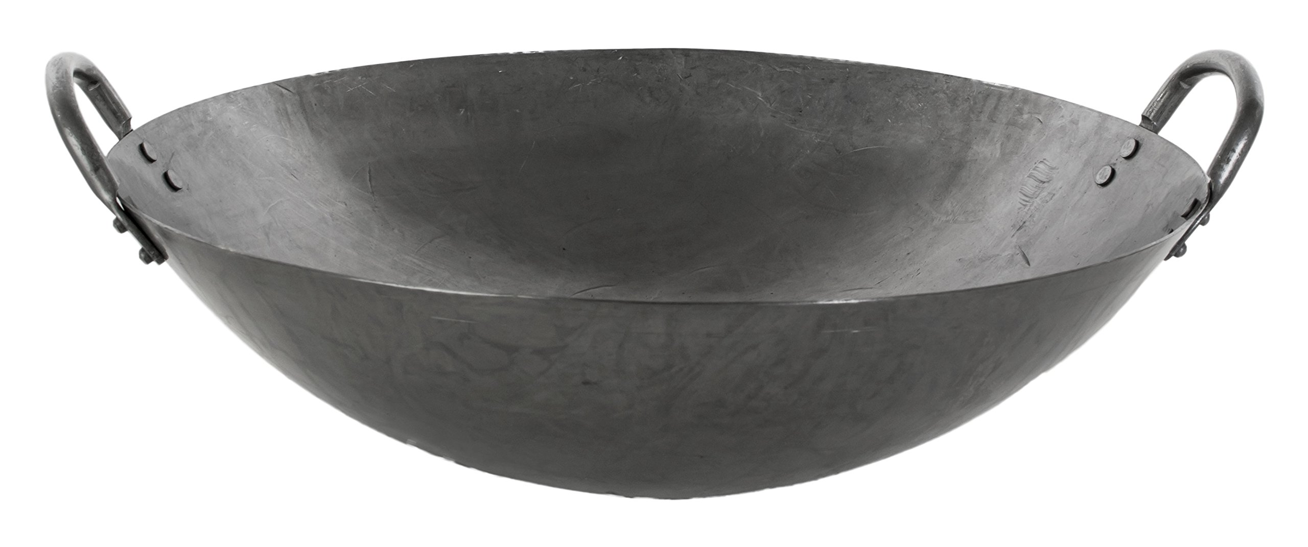 Chef's Supreme - 14'' Hand-Hammered Cantonese Wok by Chef's Supreme (Image #2)