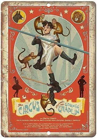 Taco Thursday The Circus Movie Pintura de Hierro Cartel de Metal Vintage Cartel de Chapa Cartel de Pared Placa para hogar Dormitorio Garaje Dormitorio Cafetería: Amazon.es: Hogar