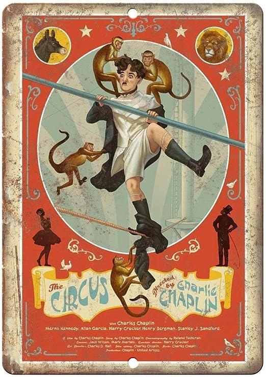 Taco Thursday The Circus Movie Pintura de Hierro Cartel de ...