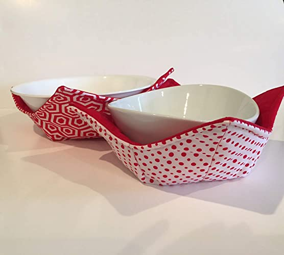Amazon Set Of Two Hot Or Cold Bowl Pot Holders Microwave Bowl Impressive Microwave Bowl Pattern