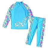 Amazon Price History for:BAOHULU Toddlers & Big Girls Swimsuit Two-Piece Tankini UPF 50+ UV Protective, 3-12 Years