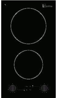NOXTON Placa Vitrocerámica con 2 Zonas De Cocción Construido ...