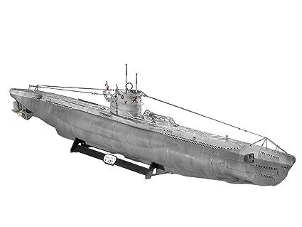 Revell 05015 U-Boat Tipo VIIC - Maqueta de submarino (escala 1:72