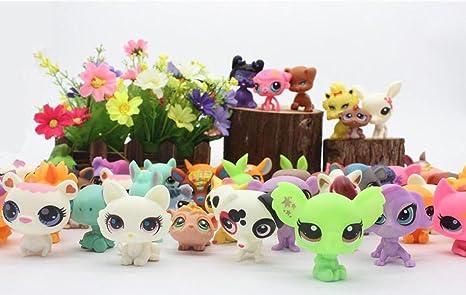 LPS model lps Toy bag 20Pcs/bag Little Pet Shop Mini Toy Animal Cat patrulla