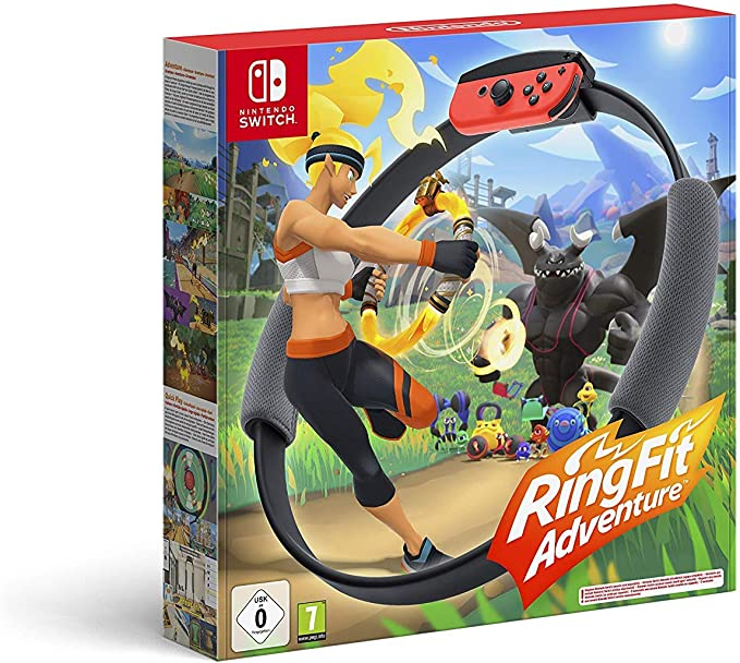 Ring Fit Adventure (Nintendo Switch): Amazon.es: Videojuegos