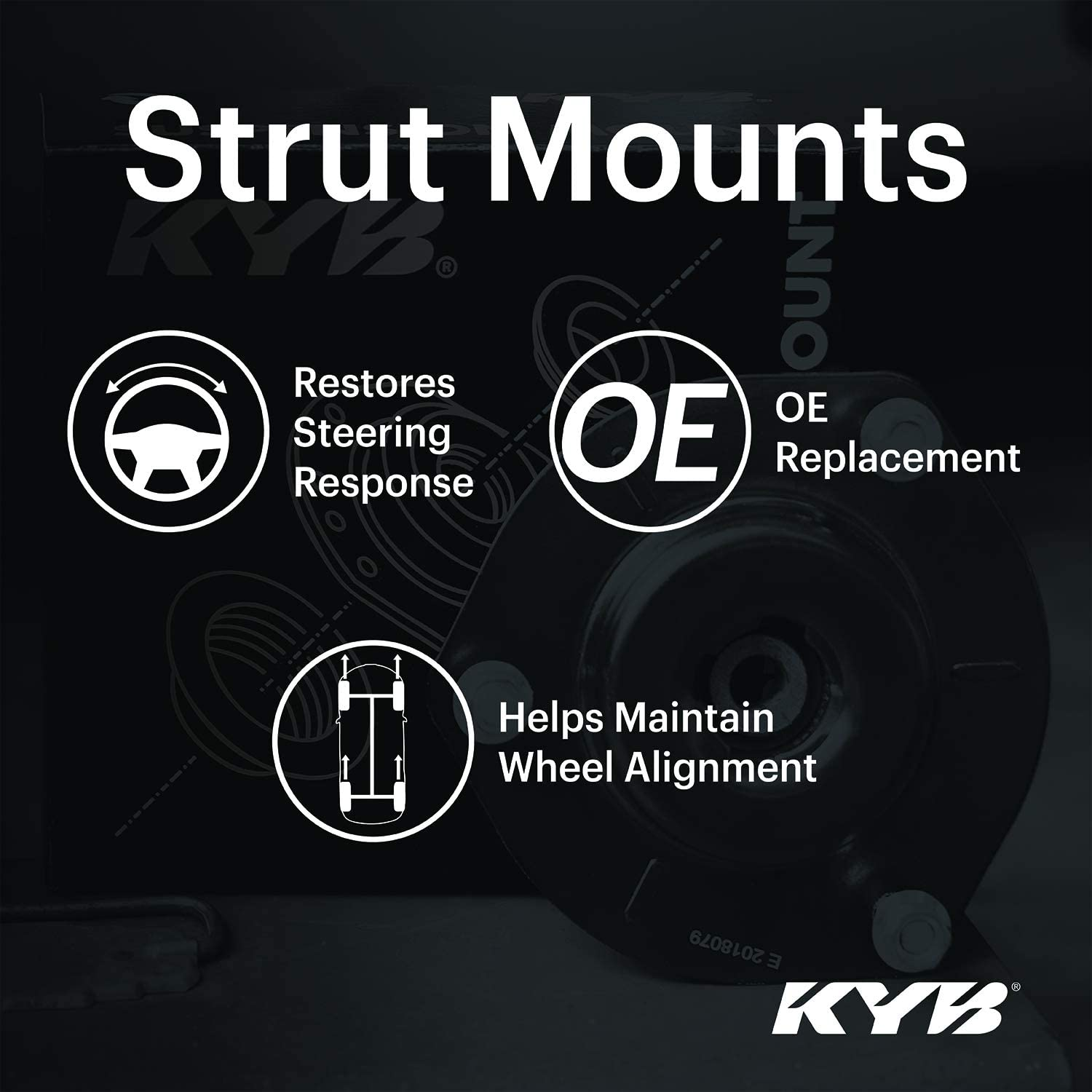 KYB SM5850 Strut Mount Mounting Component 1 Pack