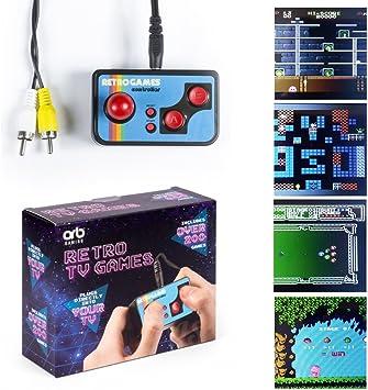 Amazon.es: Mini TV Games – Incluye 200 retro Jugar | Consola de ...