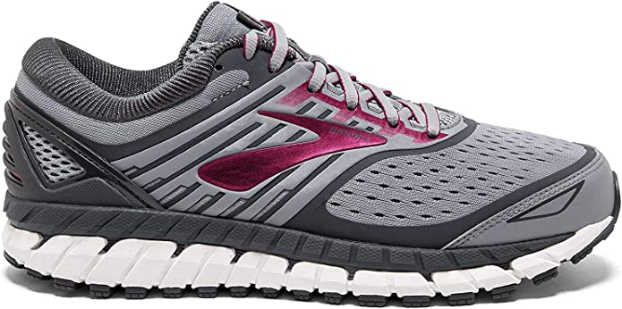 Brooks Womens Ariel /'18 Running Shoes Trainers Sneakers Grey Breathable