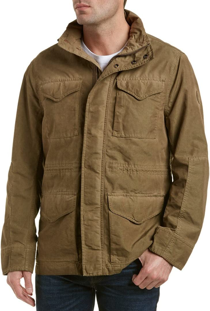 Hacer un nombre Implementar Enderezar  M65 Jacket Timberland, brown, Small: Amazon.co.uk: Sports & Outdoors