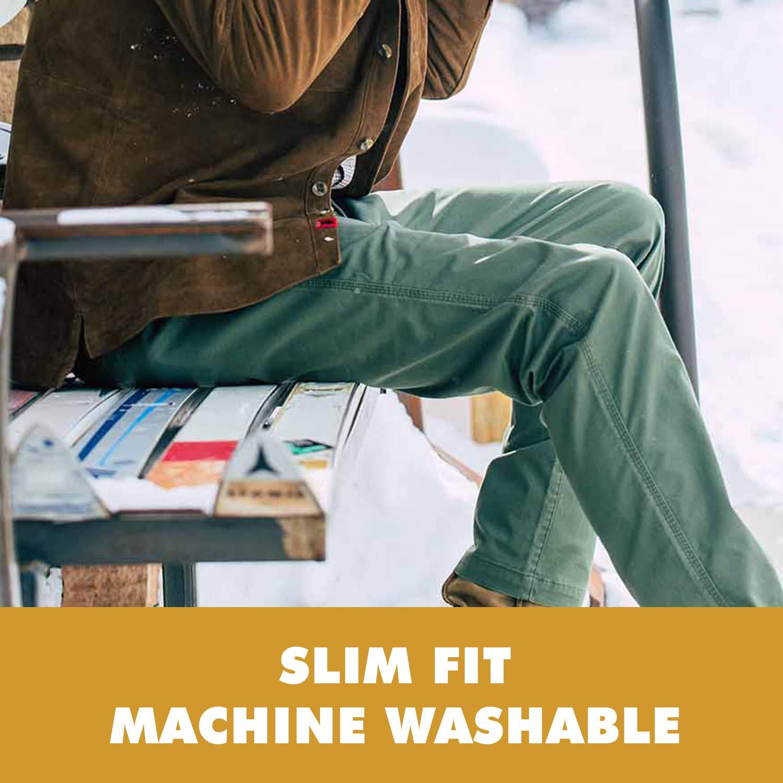 Mountain Khakis Jackson Chino Pants Slim Fit Kelp 36