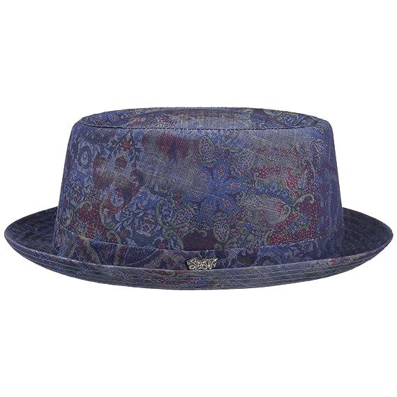 Paisley Pork Pie Cloth Hat Stetson sun hat cotton hat  Amazon.co.uk   Clothing a1456d64f38